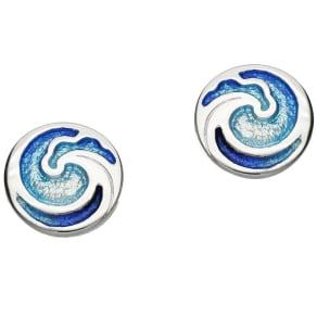 Ortak Coastal Sterling Silver Stud Earrings