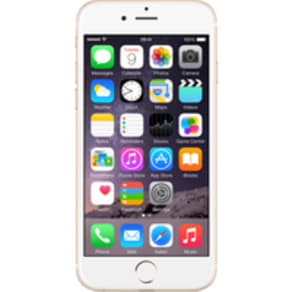 Apple iPhone 6s (32GB Gold) on Essential 4GB (24 Month(s) contract) with UNLIMITED mins; UNLIMITED texts; 4000MB of 4G Double-Speed data. £38.00 a month.