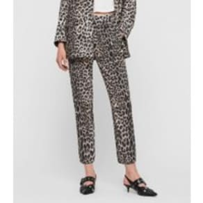 Neve Leppo Tapered Mid-Rise Trousers