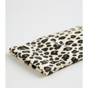 Light Brown Leopard Print Sunglasses Case New Look