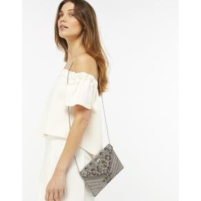 Mia Embellished Envelope Clutch Bag