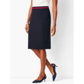 Talbots: Italian Luxe Knit Pencil Skirt