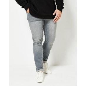 bf9c3d94711 Burton - Big & Tall Grey Washed Skinny Fit Jeans. Debenhams