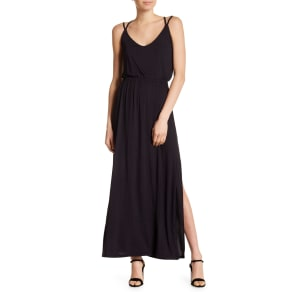 Maternity Search For Flights Beautiful Black Maxi Maternity Dress Size L Spense Brand New!