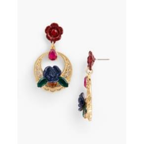 Talbots: Filigree Hoop Earrings