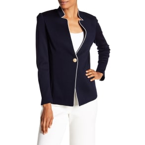 Milano Piped Wool Blend Jacket