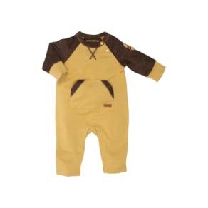 Infant Boy's Robeez Nature Romper, Size 6-9M - Yellow