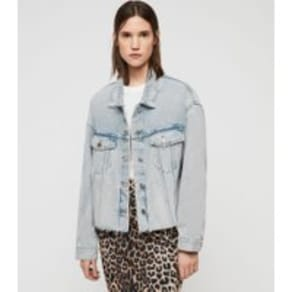 more photos 61154 d35c1 Piper Oversized Denim Jacket