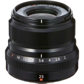 Fujifilm - Fujinon XF23mmF2 R WR Wide-angle Lens for Fujifilm X-Mount System Cameras - Black