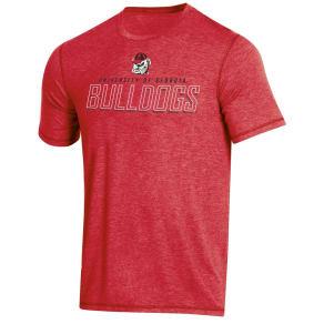 NCAA Men's Short Sleeve Poly T-Shirt Georgia Bulldogs - XL, Multicolored