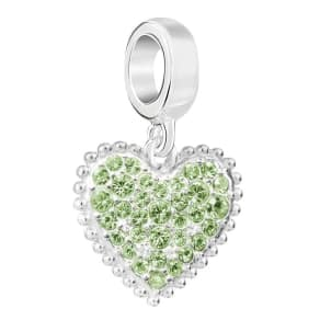 Chamilia Sterling Silver With Love August Charm