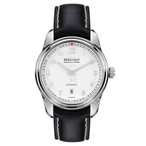 Bremont Airco Mach 2 Men's Stainless Steel Black Strap Watch