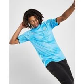 PUMA Olympique Marseille Graphic Shirt - Blue - Mens
