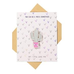 Typo - Premium Love Card - Artist series cactus!