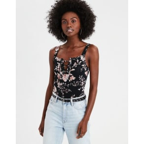 AE Lace-Up Bodysuit