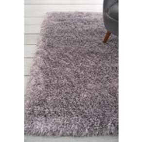 Next Collection Luxe Glimmer Rug -  Silver