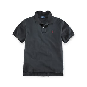 e0cc5b060e74 Polo Ralph Lauren Boys' Solid Mesh Polo ...