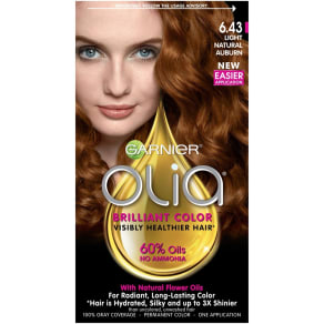 Garnier Olia Brilliant Color 6.43 Light Natural Auburn