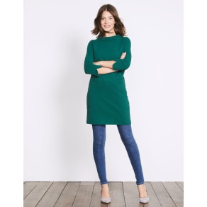 Louise Jersey Tunic Green Women Boden