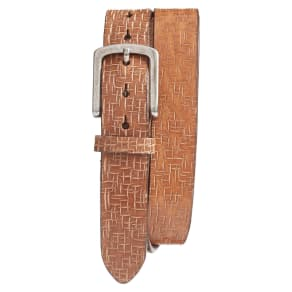 Men's Torino Belts Leather Belt, Size 32 - Tan