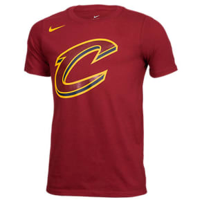 Kids' Nike Cleveland Cavaliers Nba Logo T-Shirt, Red