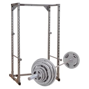 Powerline Power Rack With 300lb Olympic Grip Weight Set - (Ppr200xws)