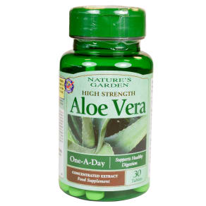 Good N Natural High Strength Aloe Vera 30 Tablets - 30tablets