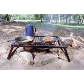 Texsport Camp Grill, Heavy Duty, Black Steel