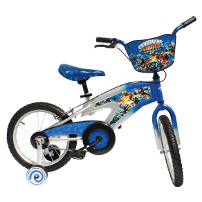 Cfg Skylanders S16 Kids Bicycle, Silver