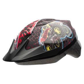 Hot Wheels Rally Racer Child Helmet - Black/Red