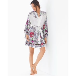 Soma Iconic Chiffon Kimono Robe