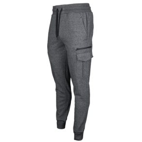 Csg Fleece Cargo Jogger - Mens - Black Marl/Black