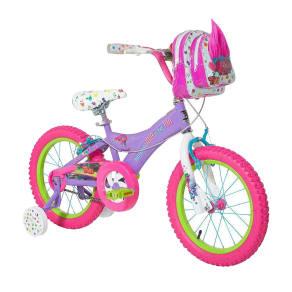 Trolls 16 Kids' Bike With Training Wheels - Purple/Pink