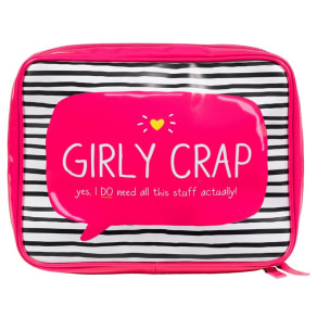 Happy Jackson Girly Crap Wash Bag