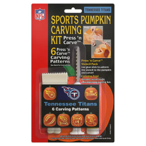 Topperscot Tennessee Titans Pumpkin Carving Kit