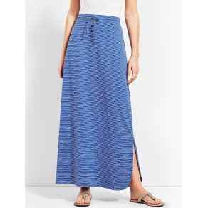 Talbots: Velocity Stripe Maxi Skirt