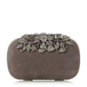Emberrs Embellished Clasp Clutch Bag