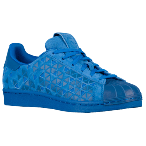 Boys Adidas Originals Superstar - Grade School - Blue/Xeno