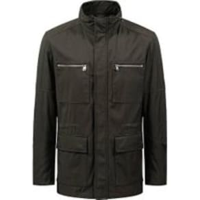 Field Jacket in Water-Repellent Technical Fabric