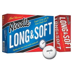 Noodle Long & Soft Golf Balls - 15pk, White