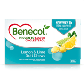 Benecol Lemon & Lime 30 Soft Chews