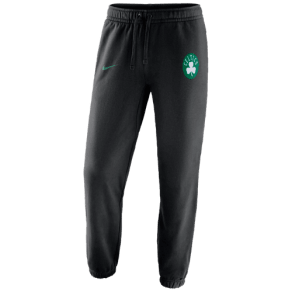 Boston Celtics Nike Nba Team Club Fleece Pants - Mens - Black