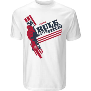 Usa Usa Mls Yanks Rule the Pitch T-Shirt