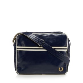 Fred Perry Navy 'Classic' Shoulder Bag