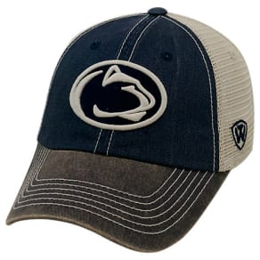 Top Of The World Penn State Nittany Lions College Heritage Offroad Trucker Adjustable Hat, Blue