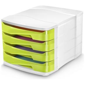 Cep Green Desktop Storage - Set of 4