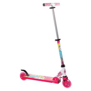 Barbie 2 Wheel Kick Scooter - Pink