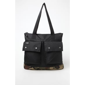 Rvca Mens Veteran Laptop Tote Bag - Camouflage