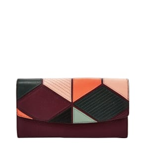 Fossil Patchwork Travel Wallet