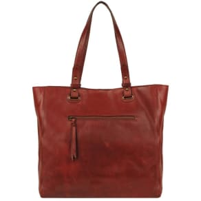 Wilsons Leather Vintage Distressed Leather Tote